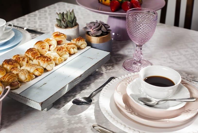 Encante sua famíia com uma mesa de café da manhã
