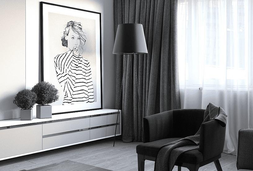 6 truques para escolher a melhor cortina para sala