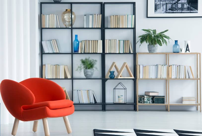 Organizando os livros
