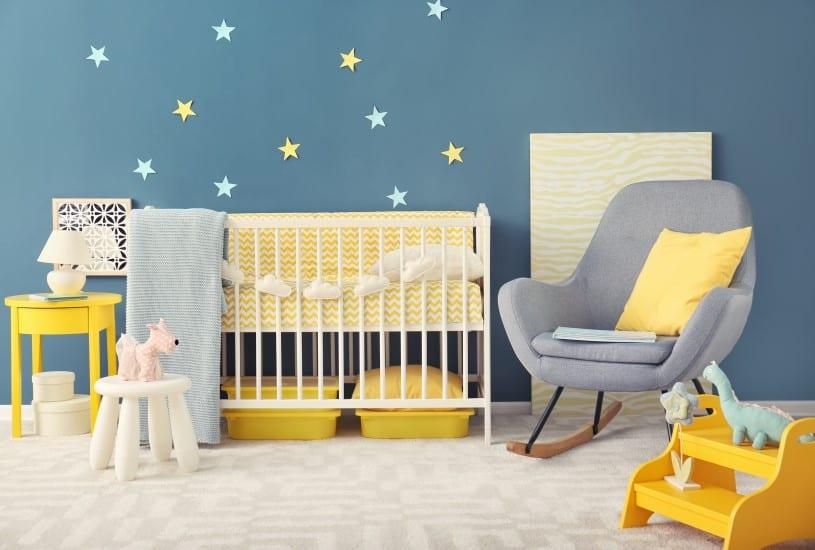 A temática e as cores da decoração infantil