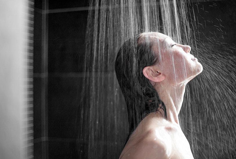 Meditação no banho