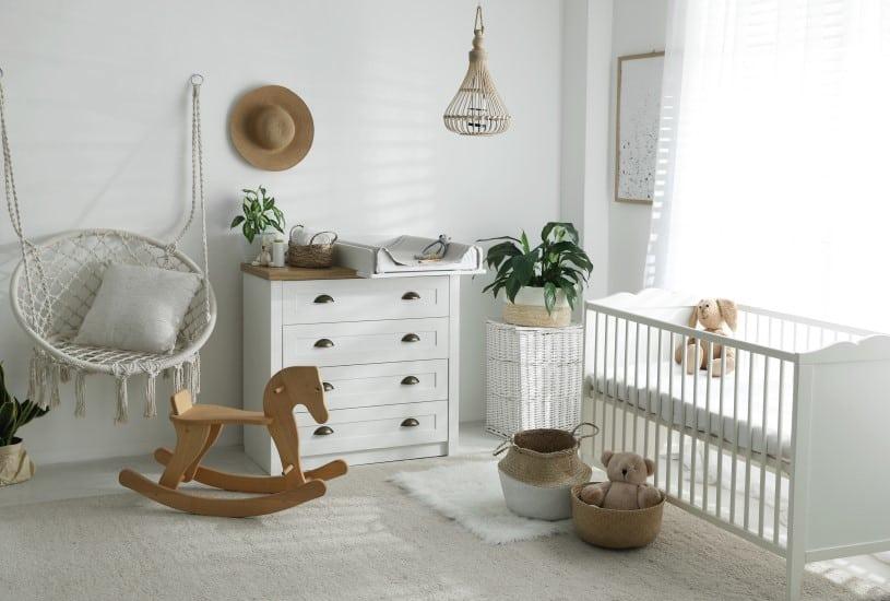 O gasto com a decoração para quarto de bebê